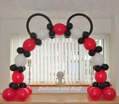 'Mickey Mouse' Theme Cake Arch