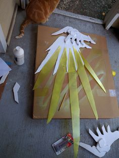 Mercy (Overwatch) Cosplay Progress: Update January 2   I was able to get a bunch done over the New Years holiday, so I will be catching you...
