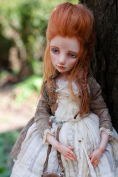 Art doll by Helena Oplakanska