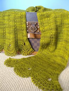 Ravelry: Tiare Shawl & Scarf pattern by Wendy Neal