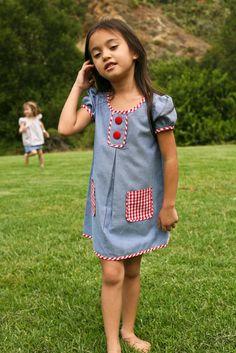 Summer Picnic Katie Dress
