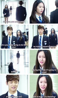 "Krystal Jung and Kang Min Hyuk -""The Heirs"" Heirs Korean Drama, Korean Drama Quotes, The Heirs, Drama Korea, Korean Dramas, Korean Celebrities, Korean Actors, Cnblue, Live Action"