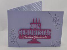 Geburtstagskarte mit Fuchs 1