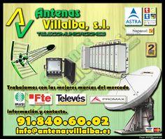instalación de antenas #tdt #satelite #wifi