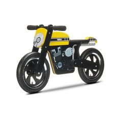 Accesorios de motos | Ropa Bebé Yamaha | Accesorios - Regalos | Moto correpasillos madera replica Yamaha 60 Aniversario