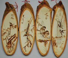 Wood Burning Tool, Wood Burning Crafts, Wood Burning Patterns, Wood Pallet Art, Wood Art, Bird Silhouette Art, Mountain Cabin Decor, Dremel Wood Carving, Pyrography Patterns