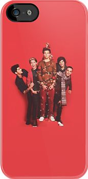 """""""One Direction Christmas """" iPhone & iPod Cases by Hannah Julius 