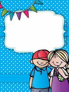 Polka Dot Classroom, Classroom Labels, Classroom Decor, Binder Cover Templates, Binder Covers, Borders For Paper, Borders And Frames, Kindergarten Activities, Preschool