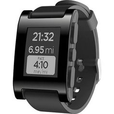 Smartwatch Pebble Smartwatch for iPhone and Android (Black) #Smartwatch  #Pebble