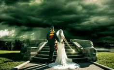 Couple Battles Lord Voldemort In Epic Wedding Photo- This is so cool!!
