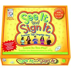 Games that teaches American Sign Language (ASL) through play. This could help advance my career