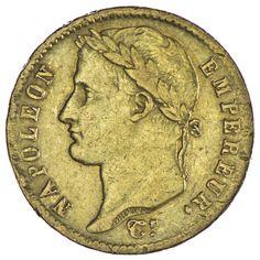 Napoléon I. 1804 - 1814 20 Francs 1811 A Gold,