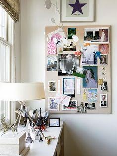 Inspiration board.