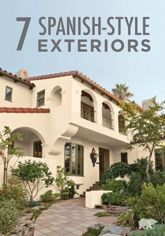 Wondering what you should update once the weather gets warmer? The exterior of your home, of course! By picking a timeless yet inviting color scheme, like BEHR paint in Writing Paper or Summerwood, you'll accentuate your Spanish-style architecture beautifully. Take inspiration from these 7 exteriors.