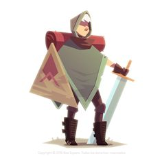 Video game character design collection on Character Design Served