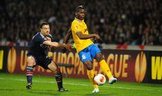 Steed MALBRANQUE / Paul POGBA LIONE Vs JUVENTUS ANDATA QUARTI DI FINALE UEFA EUROPA LEAGUE 03 MARZO 2014