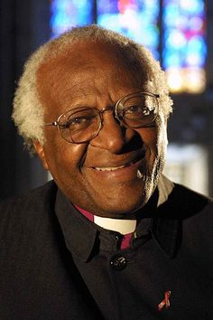 Archbishop Desmond Tutu....An amazing person,a sweet man, and an inspiration to us all.