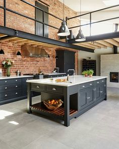 "8,233 Likes, 36 Comments - DOPE | ARCHITECT (@dopearchitect) on Instagram: ""Who wants this Kitchen?! Industrial Style Kitchen by Tom Howley Design @dopearchitect"""