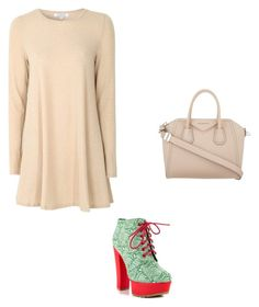 """""""Sin título #468"""" by hillary-espinoza on Polyvore featuring moda, Glamorous, Iron Fist y Givenchy"""