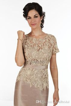 Sexy Knee Length Lace Chiffon Pant Suits For Two Piece Mother Of The Bride Dresses Mother Off Bride Dresses Mother Of The Bride Dresses Petite Sizes Mother Of The Bride Dresses Plus From Davidbridal, $105.33| Dhgate.Com
