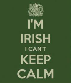Love being Irish :)