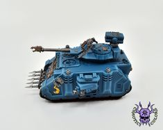 Thousand sons (Tzeentch) - Predator #ChaoticColors #commissionpainting #paintingcommission #painting #miniatures #paintingminiatures #wargaming #Miniaturepainting #Tabletopgames #Wargaming #Scalemodel #Miniatures #art #creative #photooftheday #hobby #paintingwarhammer #Warhammerpainting #warhammer #wh #gamesworkshop #gw #Warhammer40k #Warhammer40000 #Wh40k #40K #chaos #warhammerchaos #warhammer40k #tzeentch #thousandsons #ChaosPredator #Predator #Tank Thousand Sons, Warhammer 40k Miniatures, Warhammer 40000, Tabletop Games, Gw, Predator, Creative, Painting, Board Games