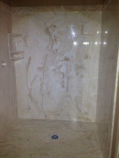Cultured Marble Shower Color Is Mexican Sand