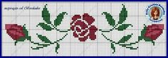All Details You Need to Know About Home Decoration - Modern Cross Stitch Rose, Cross Stitch Borders, Cross Stitch Designs, Cross Stitch Embroidery, Bead Loom Bracelets, Bargello, Beading Projects, Loom Beading, Sewing Clothes
