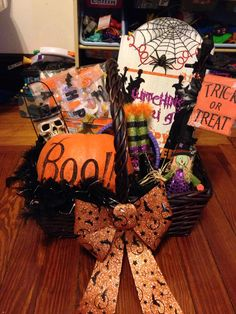 23 Best Halloween Gifts Baskets Images Halloween Goodies