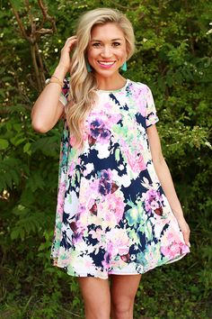 Floral Favorite Shift Dress