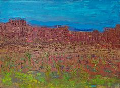 Kathleen Gallagher - Abstracted Landscapes - oil