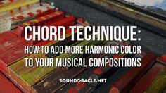 "New Blog Chord Technique: How to Add More Harmonic Color To Your Musical Compositions written for #SoundOracle by Mitchell ""@IamTheInnovator"" Tillotson #MusicProducer – READ IT HERE  https://goo.gl/LHMbkE"