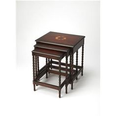 Plantation Cherry Plantation Cherry Nesting Tables By Butler Specialty  Company At Gardiners Furniture