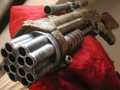 Steampunk Halo Blaster Fallout 3 Nerf gun