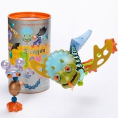 Dragon Bonz Creature Building Set - Educational Toys Planet. Great gift for 4 years old child. Dragon Bonz construction toy is full of building parts of the most famous mythical creatures in the world, dragons! Develops Skills - creativity, imagination, balance principles, building skills. #toys #learning #educational #gifts #child https://www.educationaltoysplanet.com/dragon-bonz.html