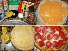 Grilled Cheese Stuffed Crust Pizza Combines Two of Our Favorite Foods