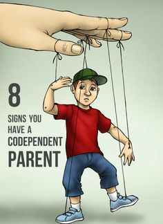 A check-list of signs to help you determine whether you have a codependent parent.