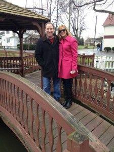 Melissa and Greg Gisoni (her new hubby)