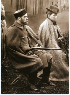 Nicholas and Alexandra.  He should have been hunting Bolsheviks.