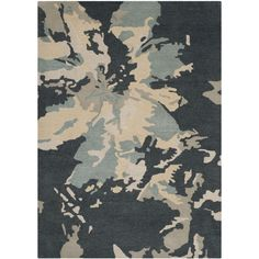 Safavieh Handmade Bella Steel Blue Wool Rug (9' x 12') - Overstock™ Shopping - Great Deals on Safavieh 7x9 - 10x14 Rugs