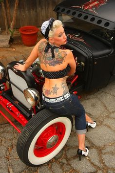 Ratrod and Rocka Billy Chick