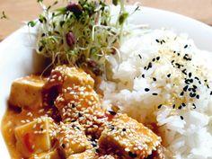 Sesam-Ingwer-Tofu Chinesisch inspirierter exotischer Genuss