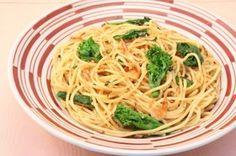 菜の花のスパゲッティー かつお風味