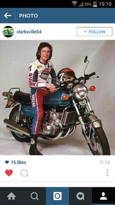 Great British icon. Barry sheene