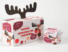 "Waitrose ""Just Desserts"" Packaging by Louise O'Sullivan, via Behance"