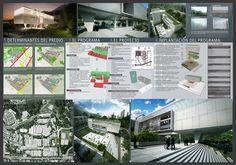 diseño de laminas de arquitectura para concurso - Buscar con Google