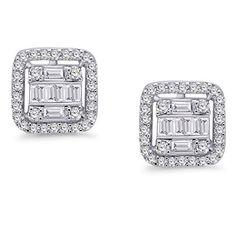 Men's Earrings, Diamond Earrings, Kids Ornament, Silver Rounds, Baguette, Street Fashion, Natural Diamonds, Omega, Fashion Brands