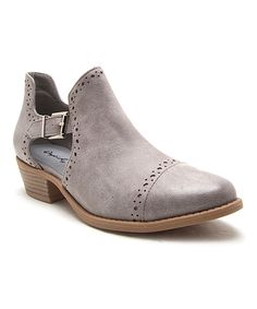 Take a look at this Qupid Light Gray Sochi Bootie today!