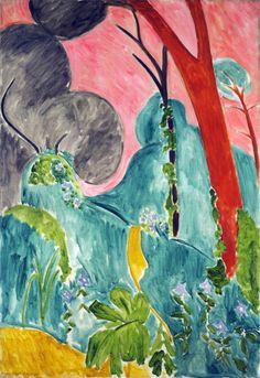 Moroccan Garden ~ Henri Matisse