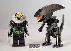 Lego Predator & Alien